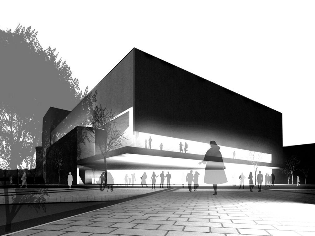 Dzaa arquitectura auditorium and music school ver n 2010 for Arq estudio de arquitectura